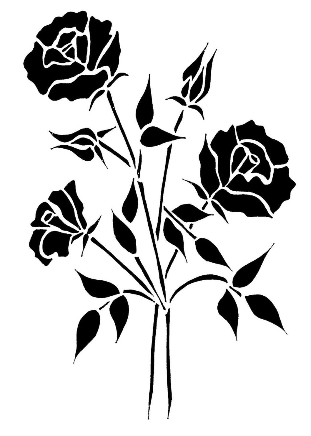 Triple Rose Spray A5