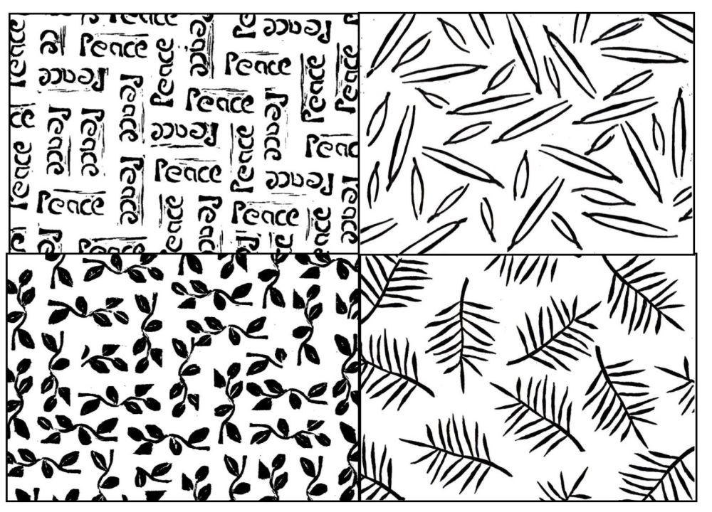Pattern Blocks set of 4: 4