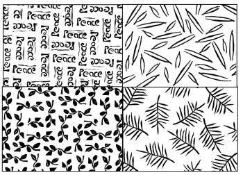 """Pattern Blocks set of 4: 4"""""""