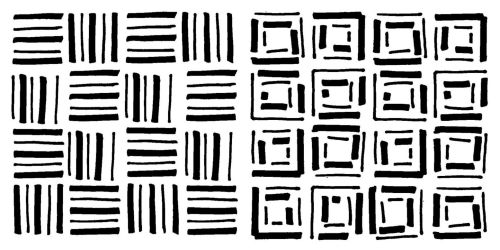 Pattern Blocks -  set of two: Cubes: 4