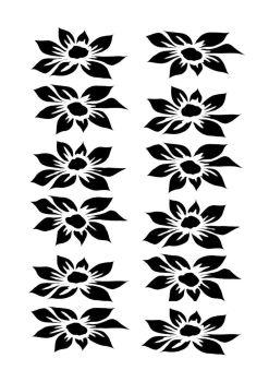 Dahlia 12 blooms portrait A5