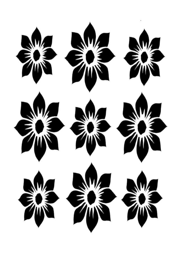 Dahlia full blooms 9  A4