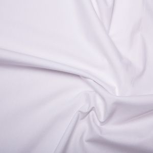 "Optic White Cotton 140gsm 150cm/60"" wide"