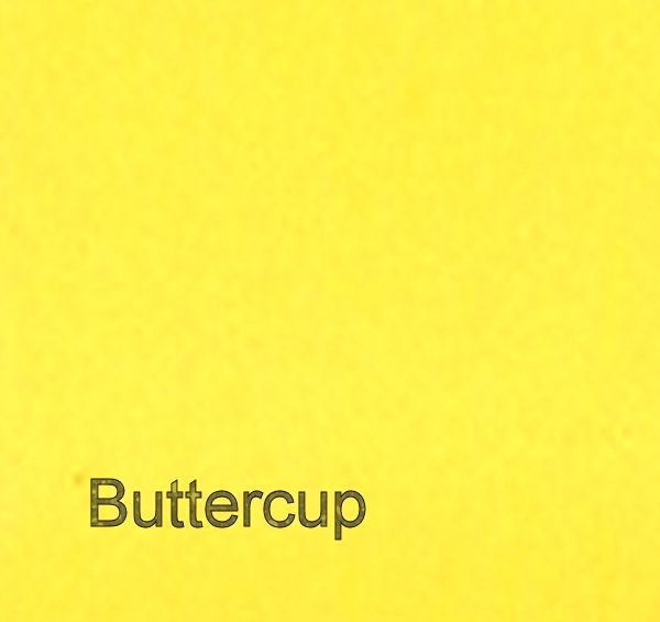 Buttercup Yellow: from £4