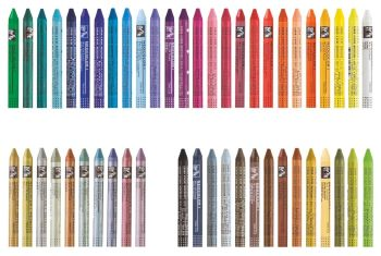 Neocolour 1: single crayons