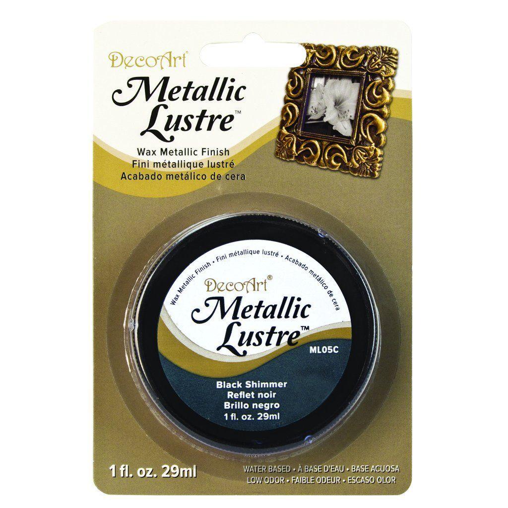 Metallic Lustre Black Shimmer