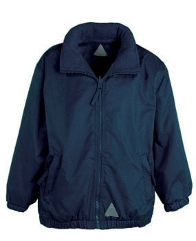 Reversible waterproof jacket (embroidered)