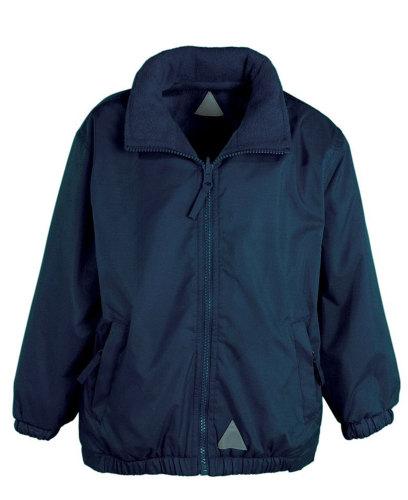Reversible waterproof jacket (embroidered)