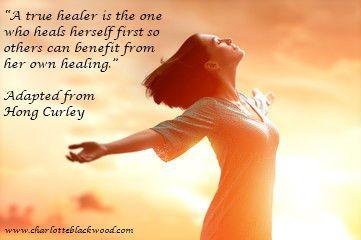 A true healer