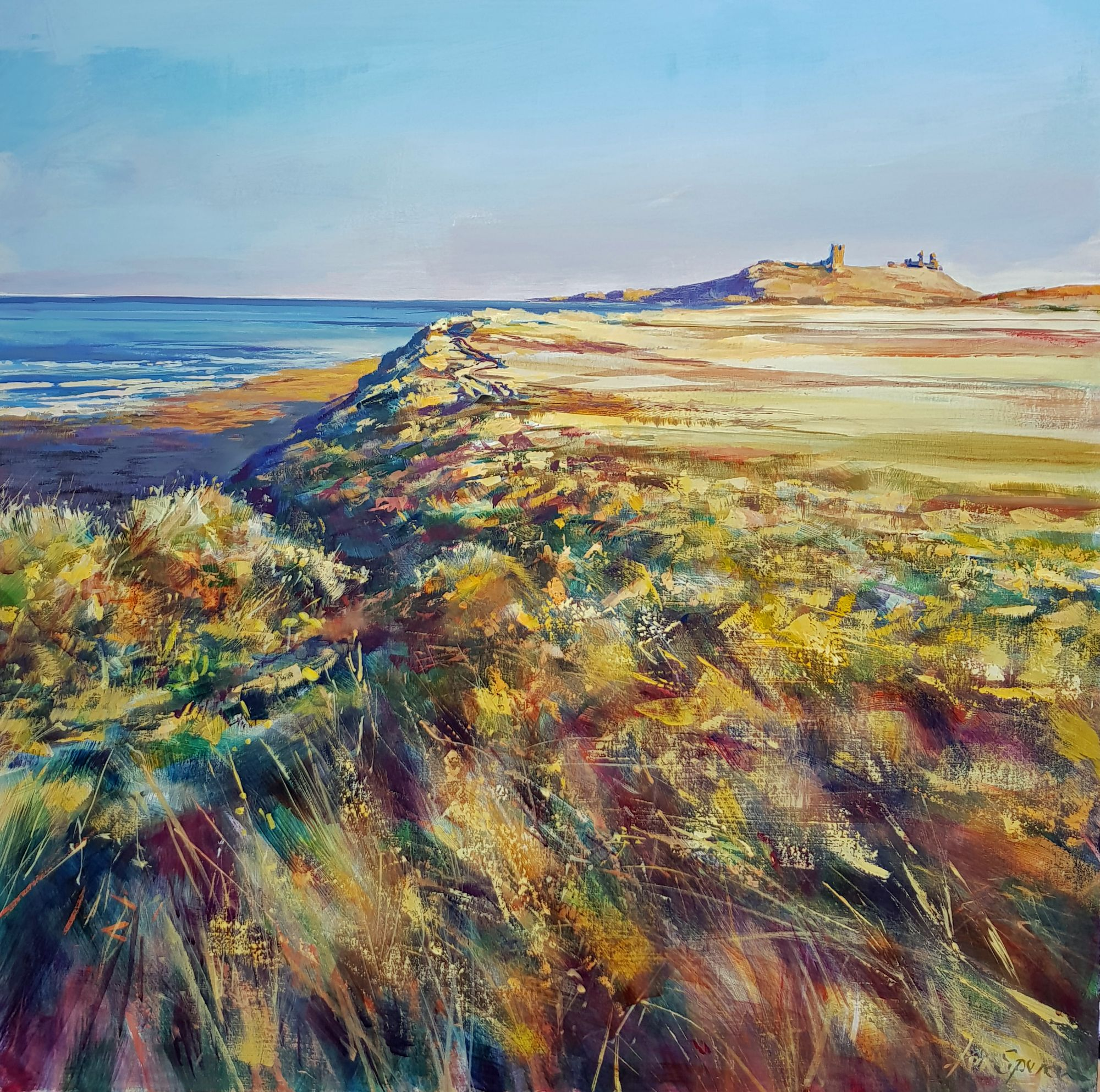 dunstanburgh coast