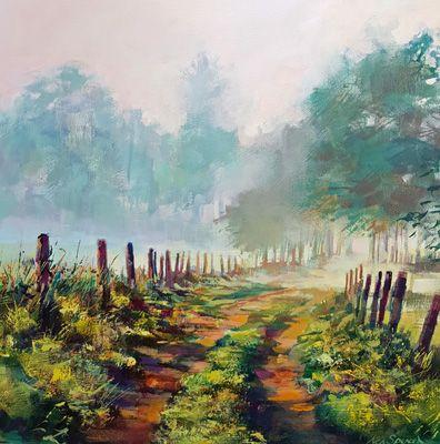 path at Cambo