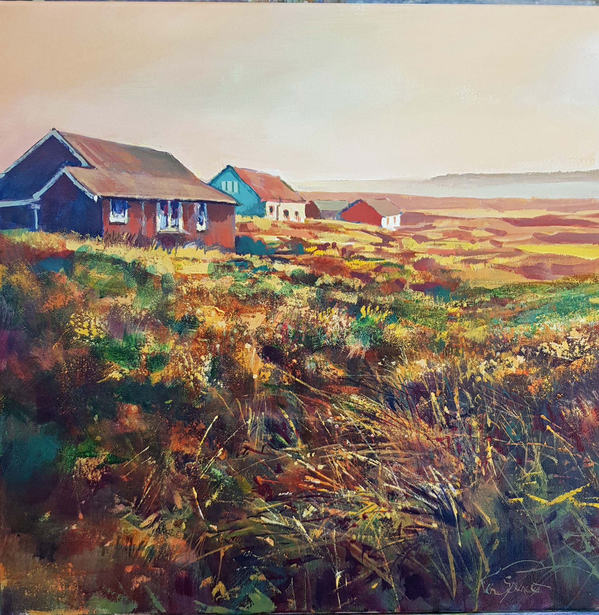 Dune chalets, Embleton 40 x 40 cms£195