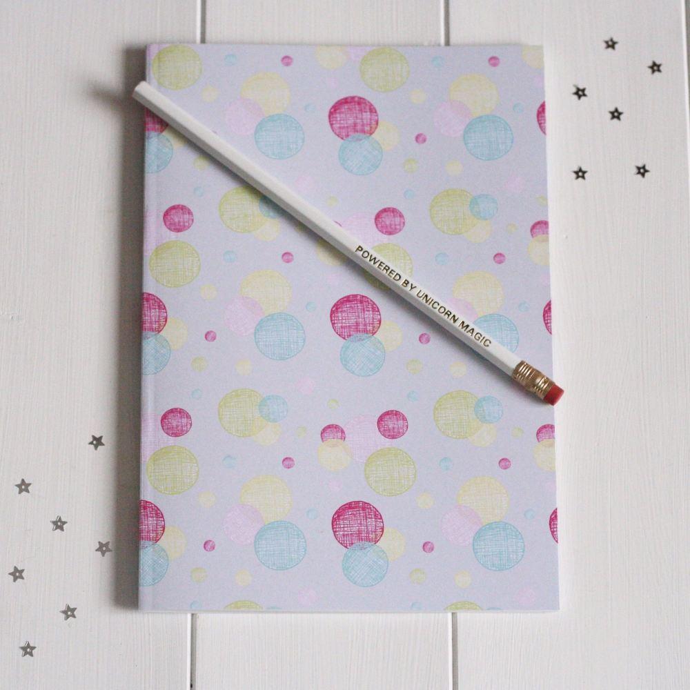 Notebook and Unicorn Magic Pencil Gift Set