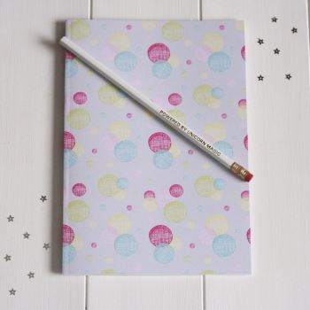 A5 Notebook and Powered By Unicorn Magic Pencil Gift Set