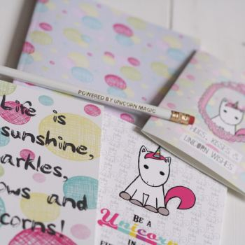 Unicorn Stationery Gift Set