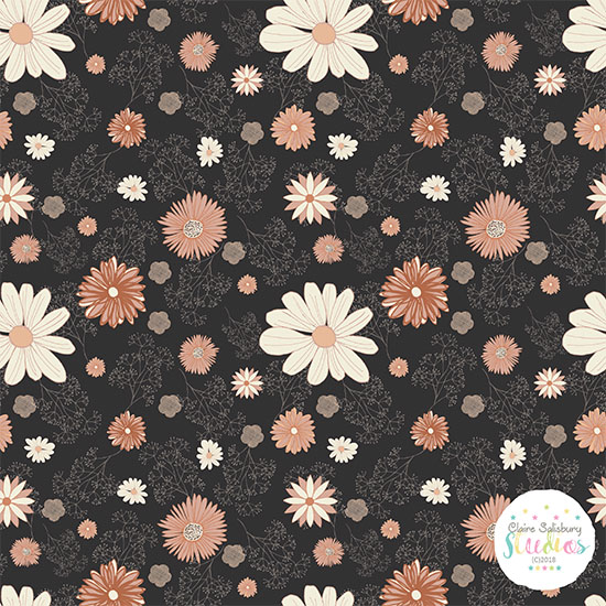 Dusty Floral Surface Pattern Winter School 2018 Advanced