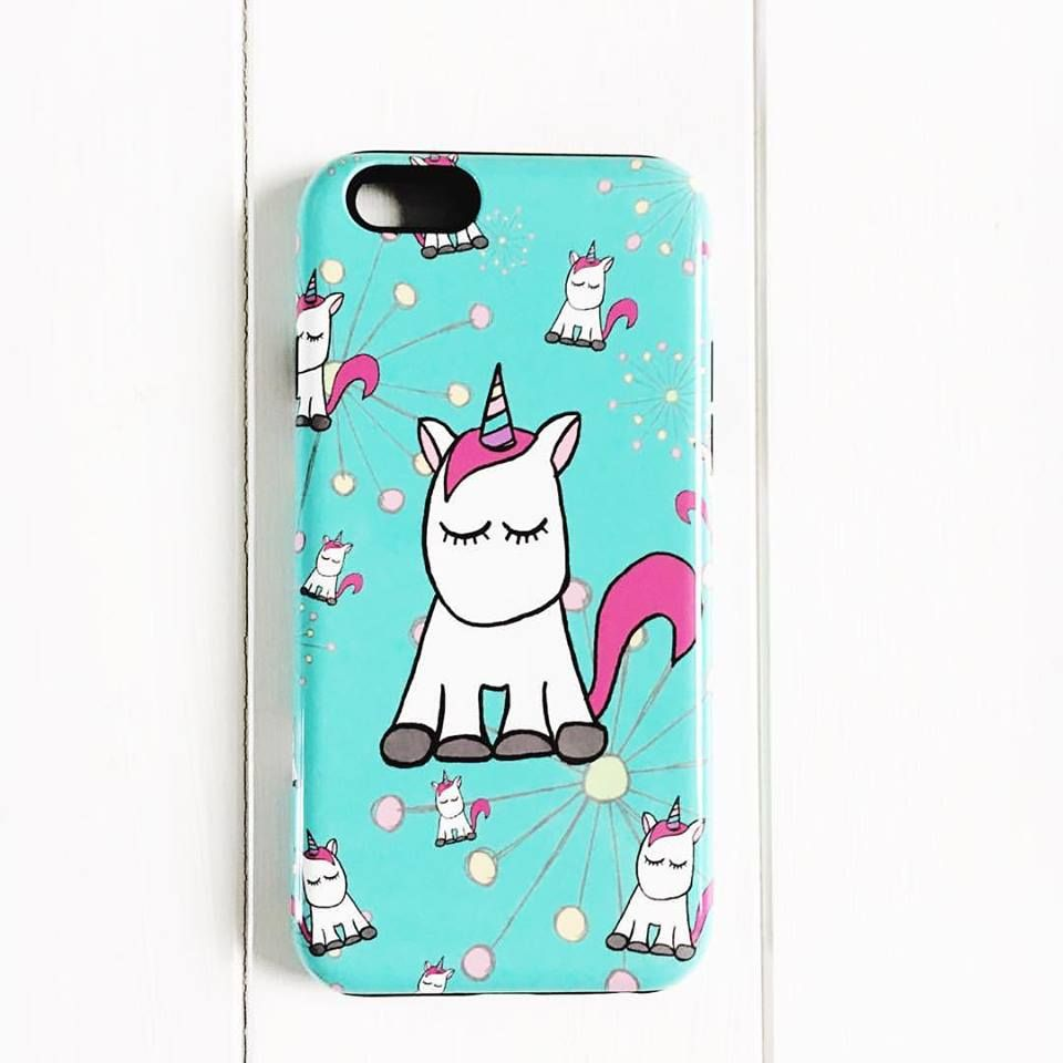 UNICORN IPHONE CASE BY CLAIRE SALISBURY STUDIOS
