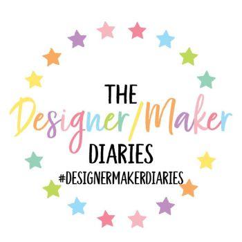 DESIGNER MAKER DIARIES CIRCULAR LOGO