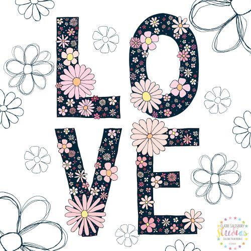 FLORAL FEB LOVE