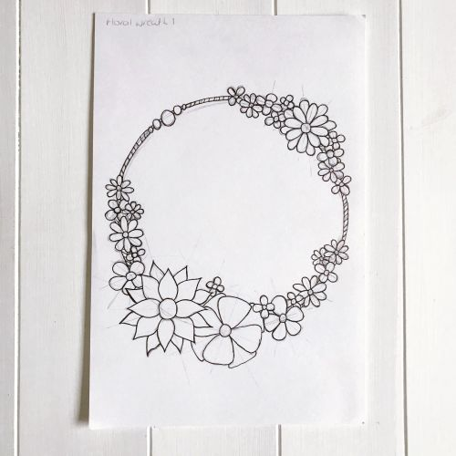 FEB FLORAL - WREATH 1