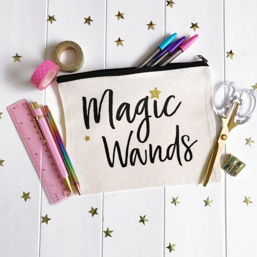 MAGIC WANDS PENCIL CASE
