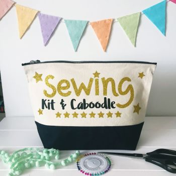 Large Project Bag - Sewing Kit & Caboodle
