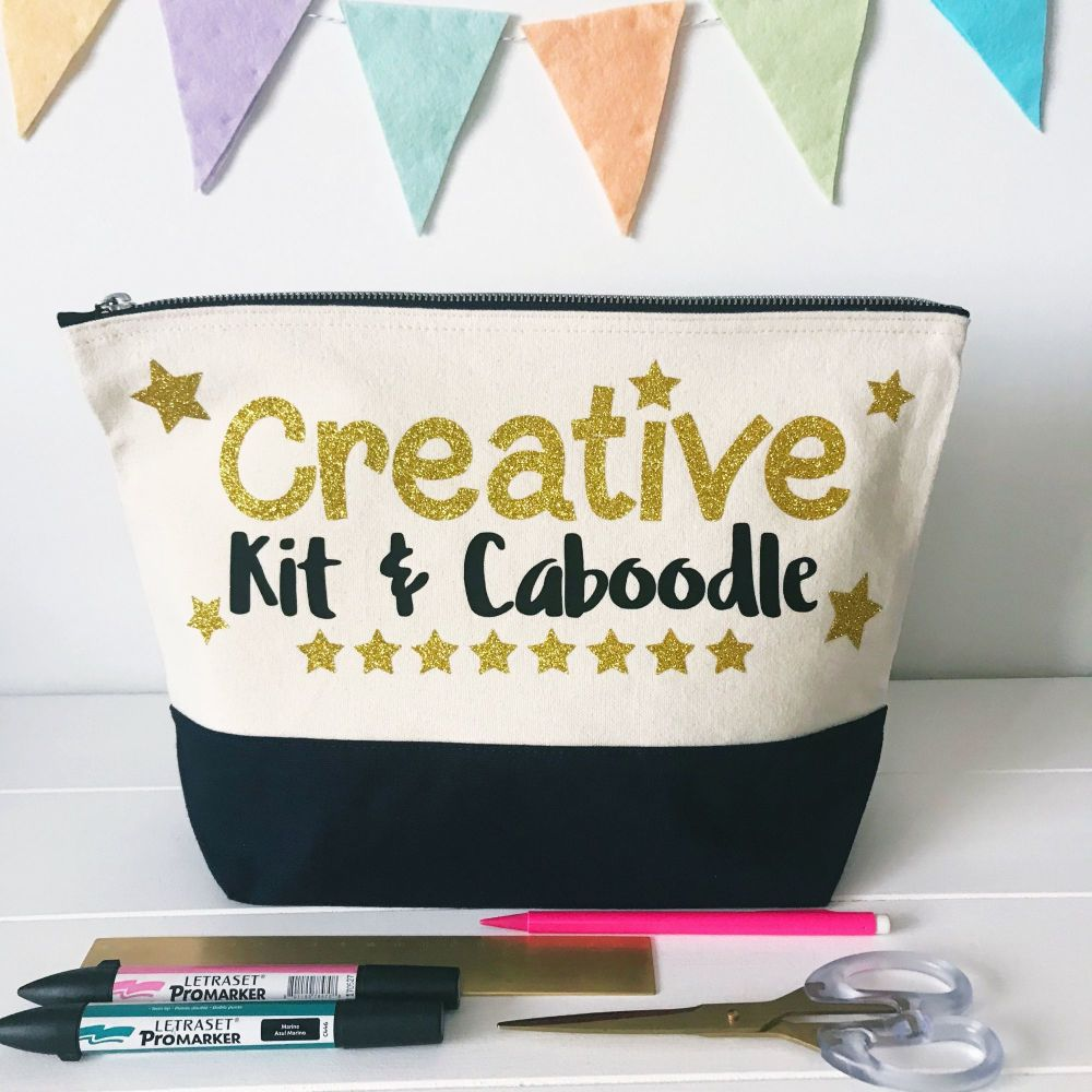 PREORDER - Large Project Bag - Creative Kit & Caboodle