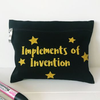 Pencil Case - Implements of Invention