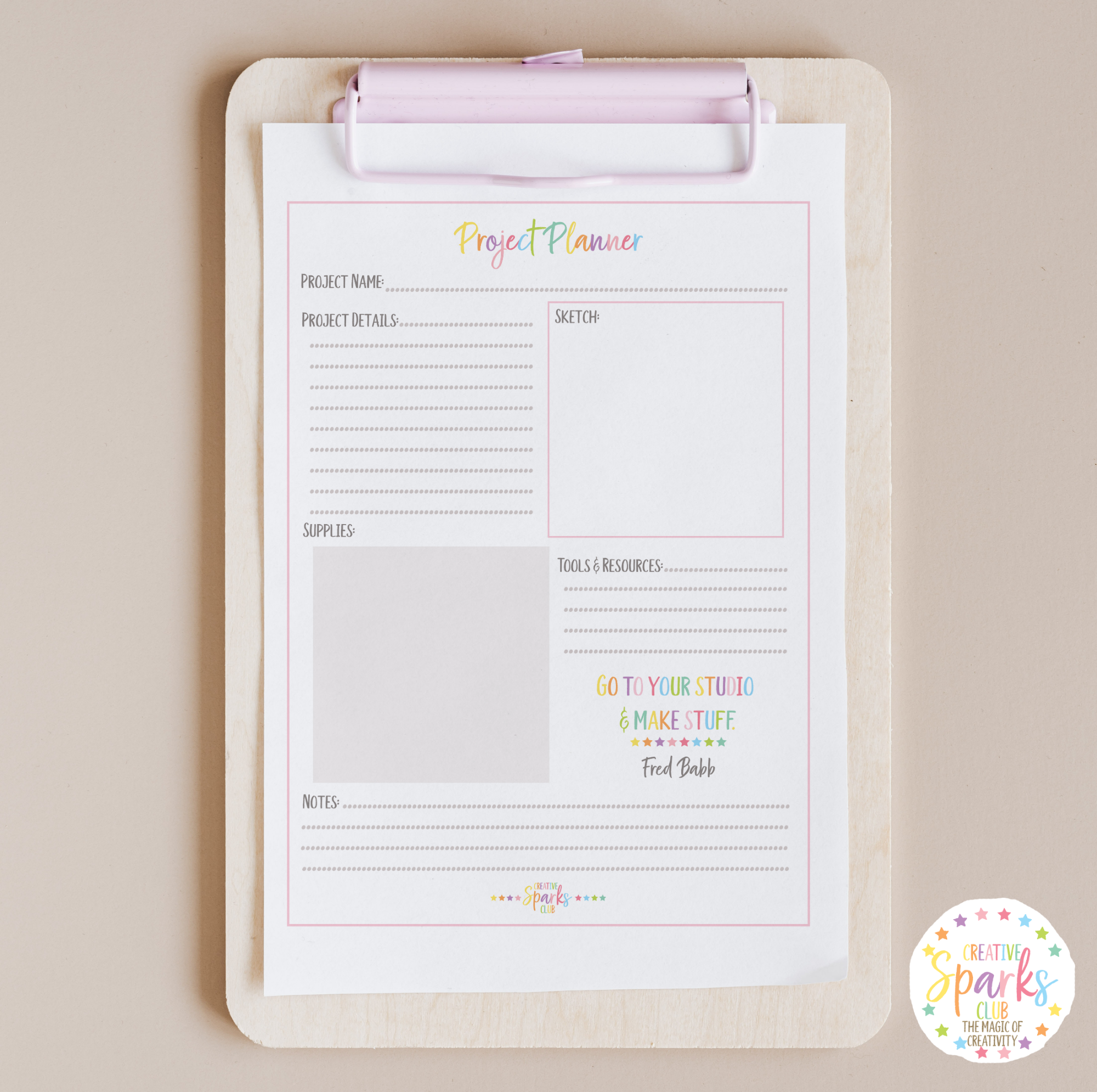 PROJECT PLANNER PDF DOWNLOAD ON CLIPBOARD