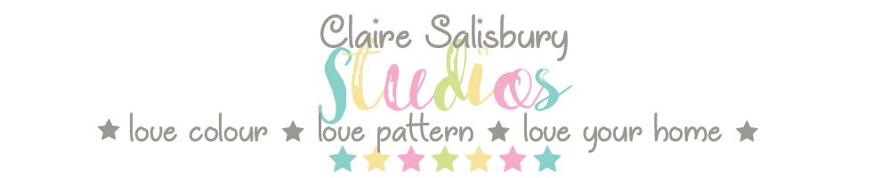 Claire Salisbury Studios, site logo.