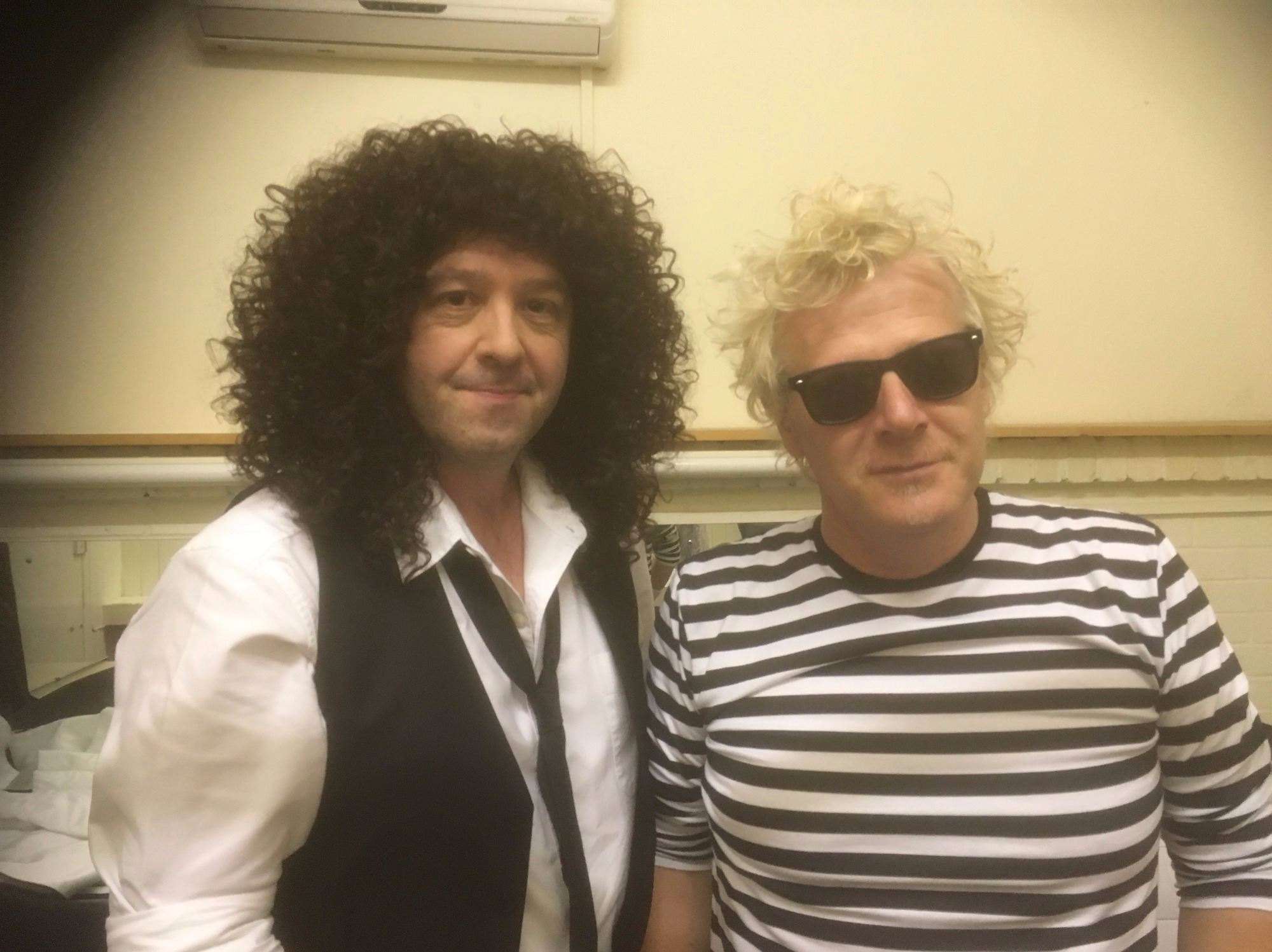 Brian May & Roger Taylor (Pure Queen Tribute Band)