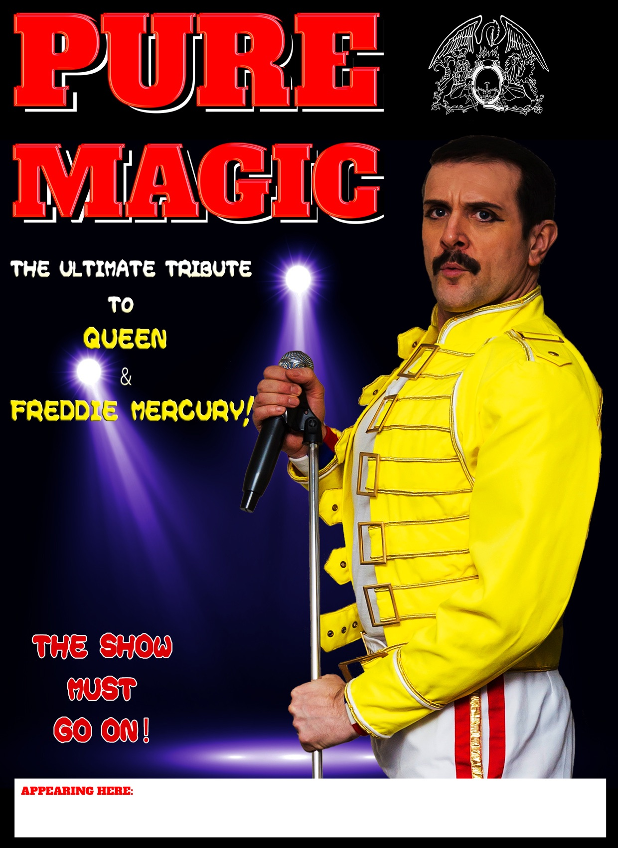 Pure Magic Freddie Mercury Tribute Show