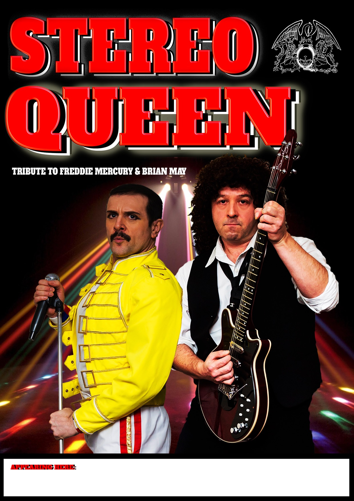 Stereo Queen Freddie Mercury and Brian May Tribute Show