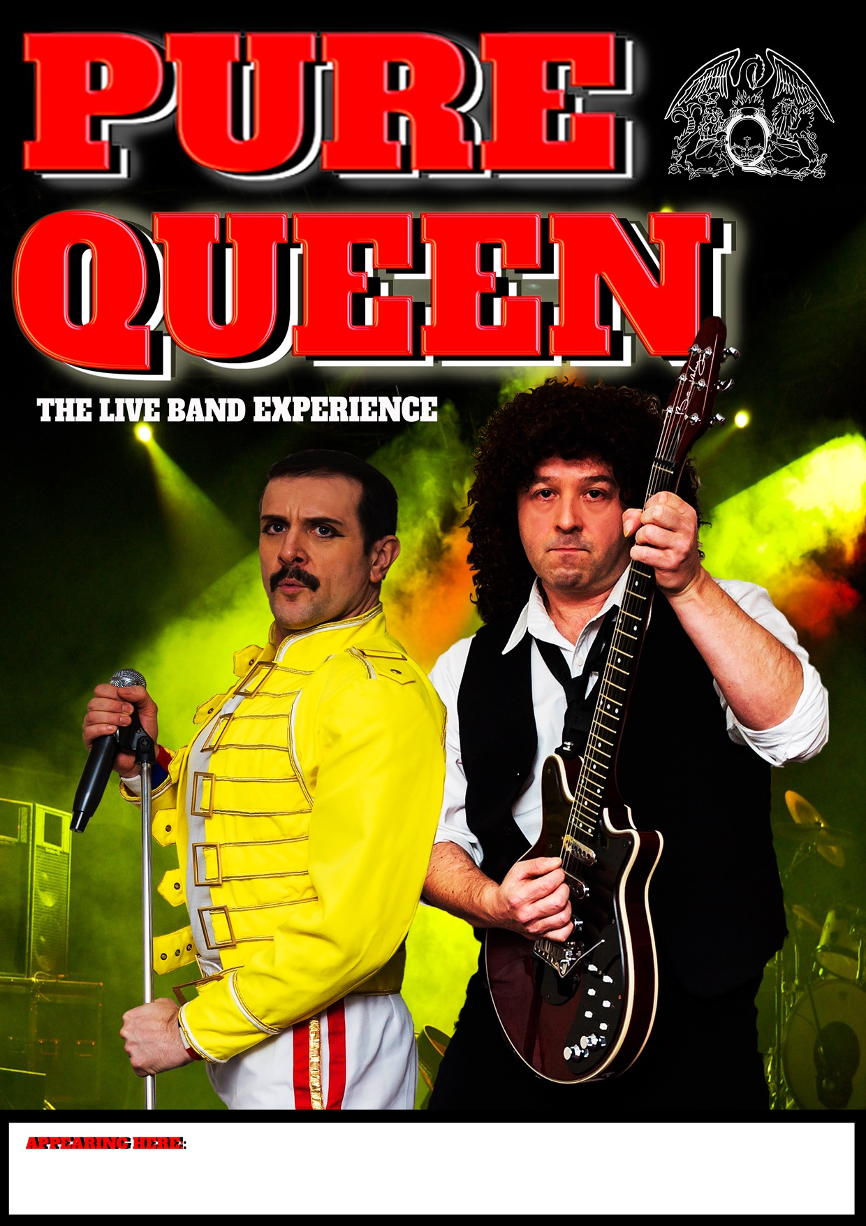 Pure Queen - Full Live Queen Tribute Band