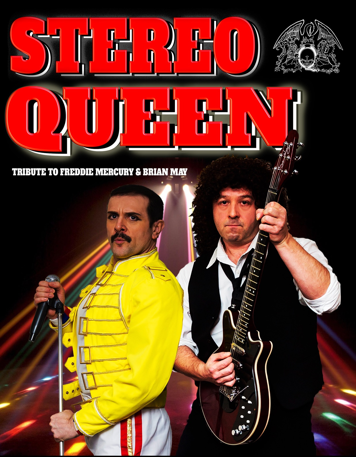 Freddie Mercury and Brian May tribute show