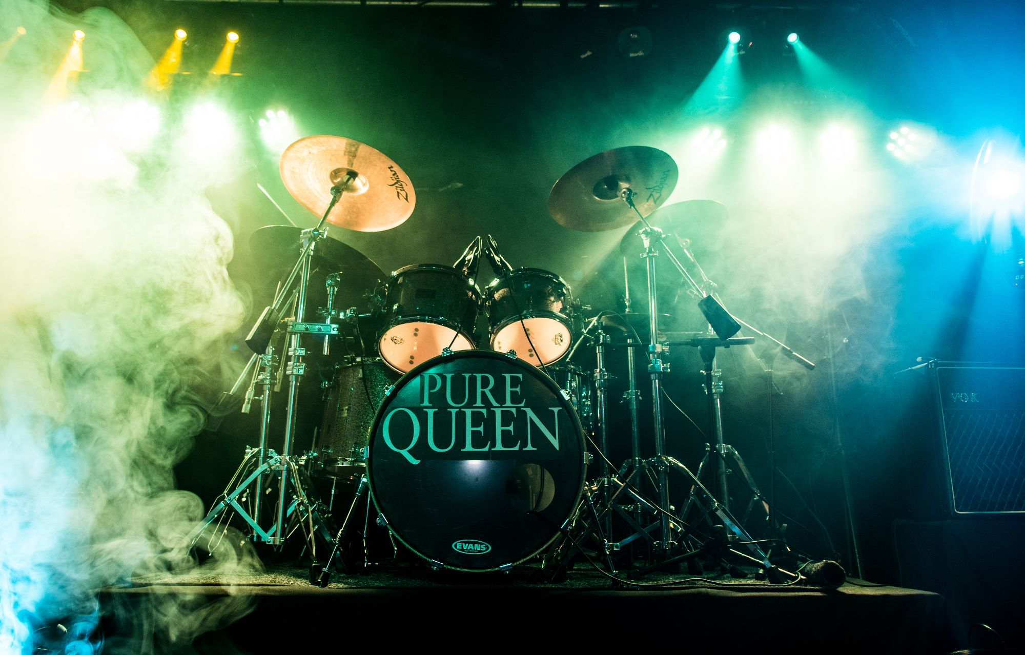 Roger Taylor Queen Tribute Band Pure Queen