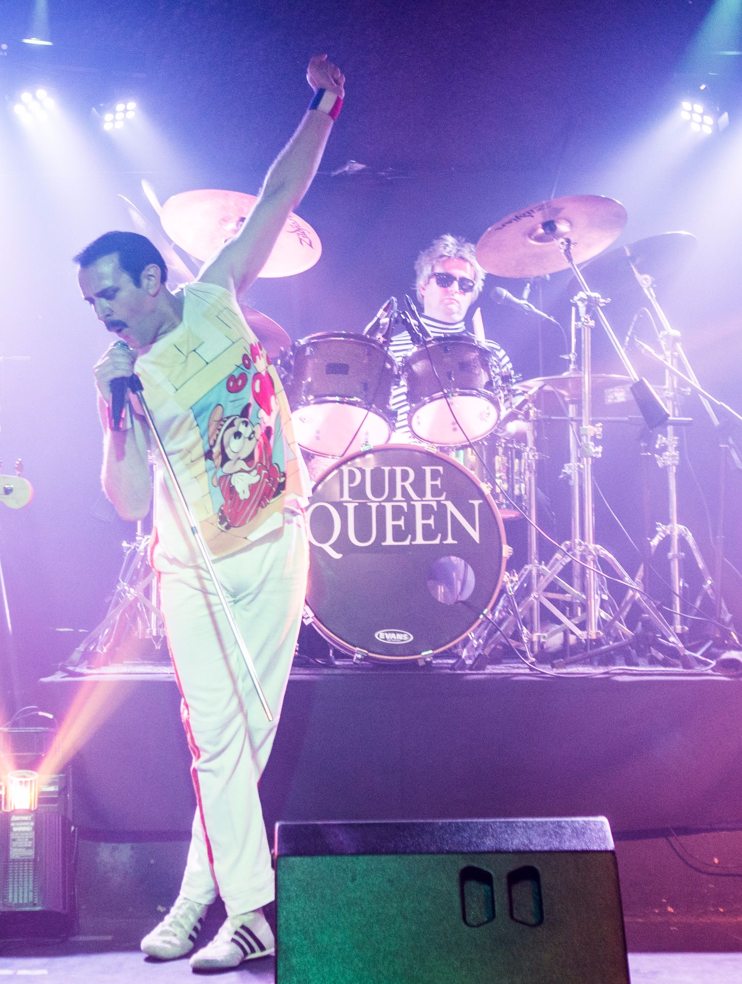 Freddie Mercury & Roger Taylor Pure Queen Tribute Band