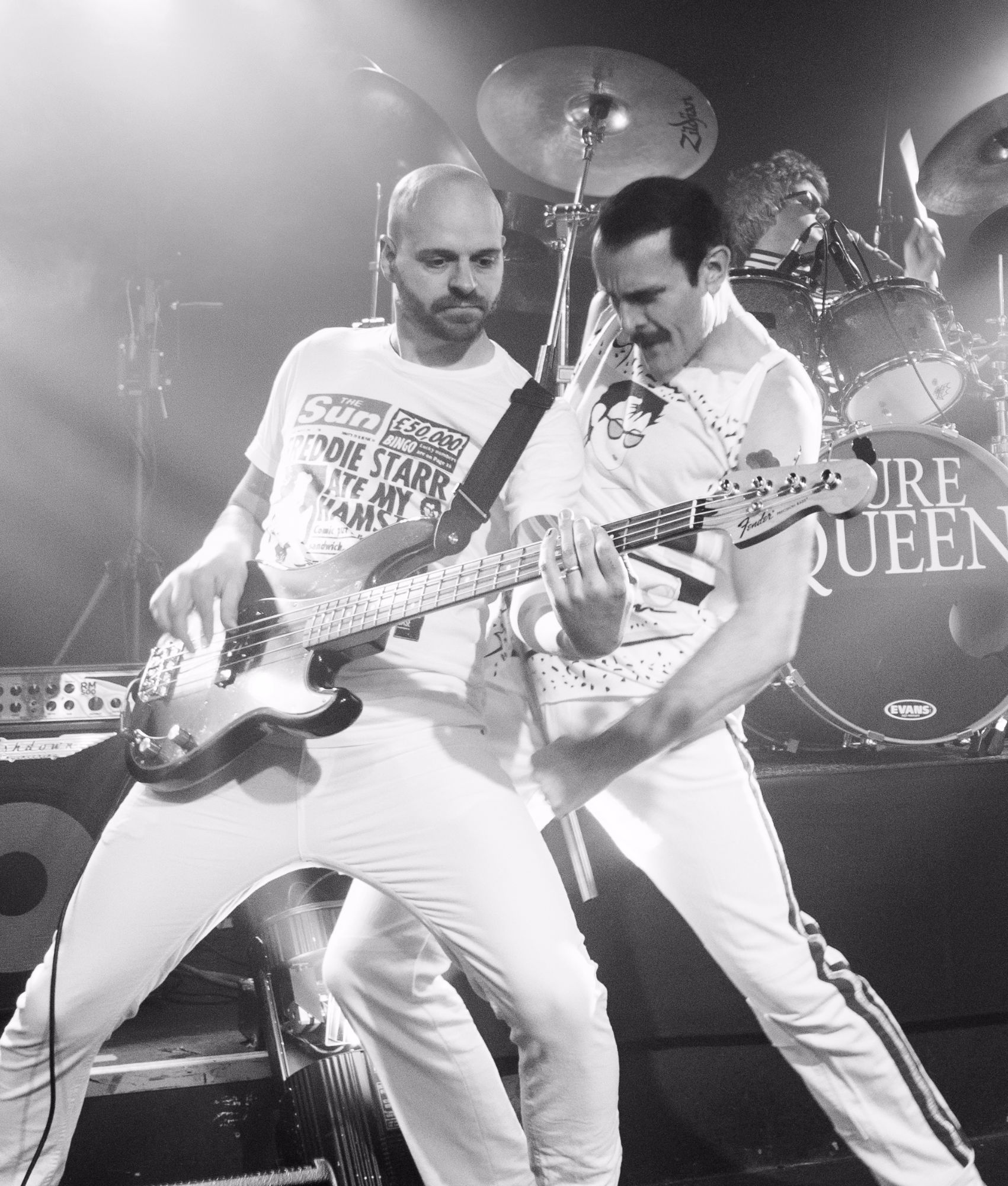 Freddie Mercury & John Deacon Pure Queen Tribute Band