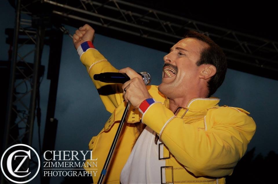 Freddie mercury tribute act - Pure Magic