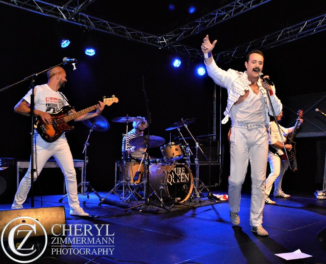 Pure Magic Queen Tribute Band