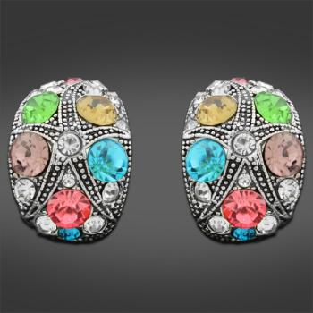 Classic 80's style earrings