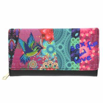 Funky FLOWER POWER purse