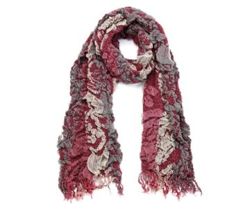Fabulous textured scarf