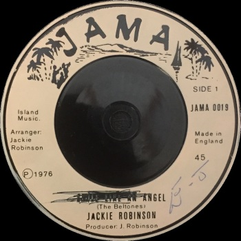 "Jackie Robinson - ""Smile Like An Angel"" b/w Version"