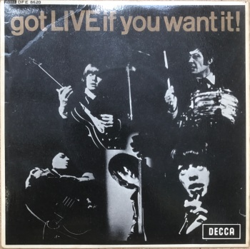 "Rolling Stones - ""Got Live If You Want It"" EP"