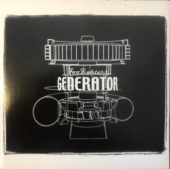 "Foo Fighters - ""Generator"" b/w ""Fraternity(Bonus Track)"""