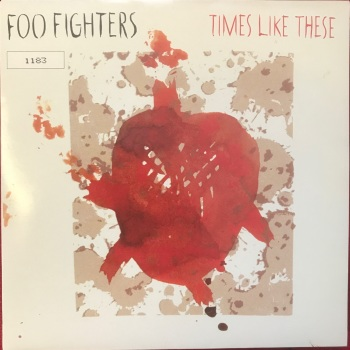 "Foo Fighters - ""Times Like These (album version)"" b/w ""Life Of Illusion"""