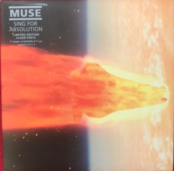 "Muse - ""Sing For Absolution (Full Length US Remix)"" b/w ""Fury"""