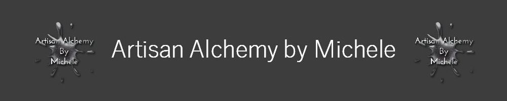 Artisan Alchemy by Michele, site logo.