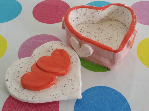 Trinket Box Clay Workshop Sunday 17th February 2019 10.30am